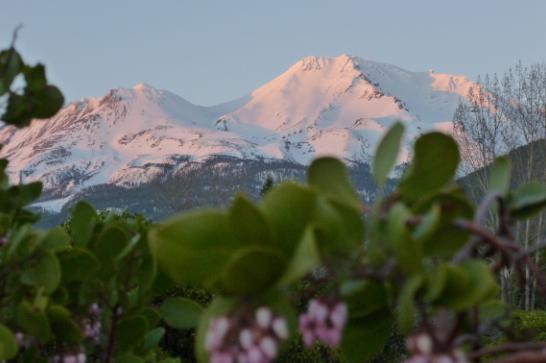 Mt. Shasta the home of the Inner Earth Lemurian Capital City Telos