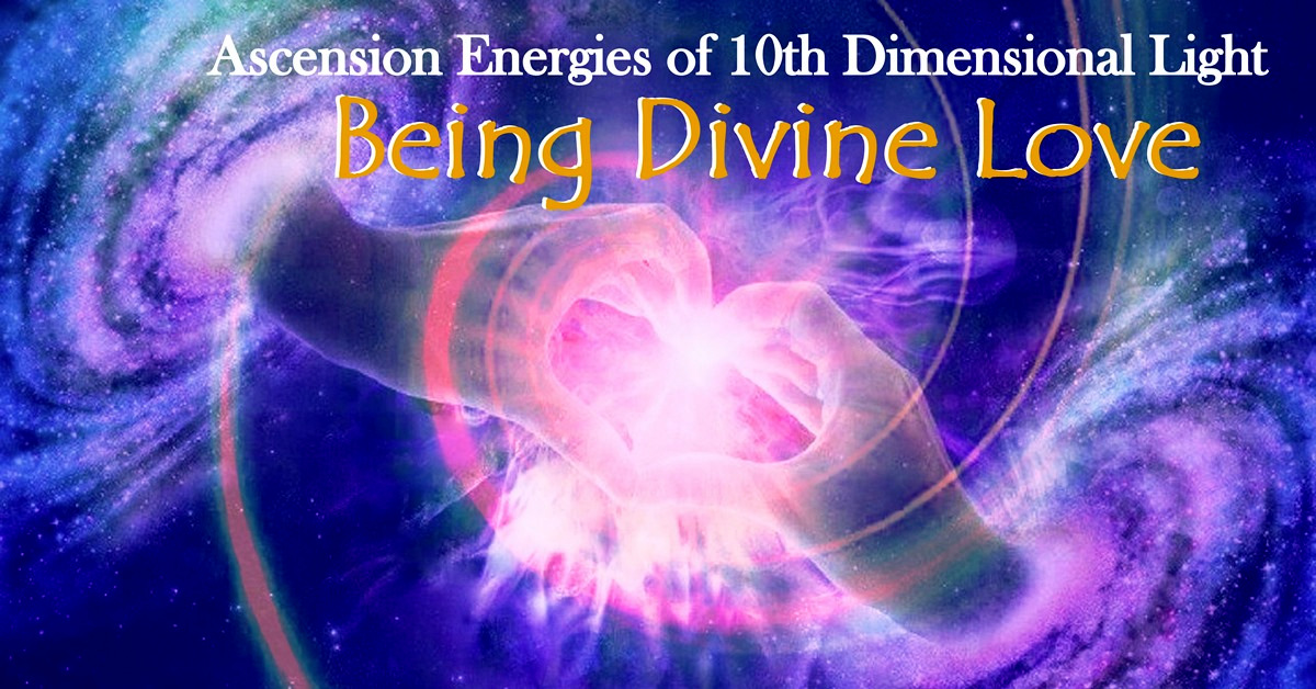 Being Divine Love - Ascension MAstery Training Walking Terra Christa 1200
